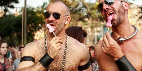 Desfile del orgullo gay en Madrid, 2013.